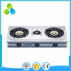 Middle East Market Stainless Steel Gas Cooker, Kitchen Stove pictures & photos