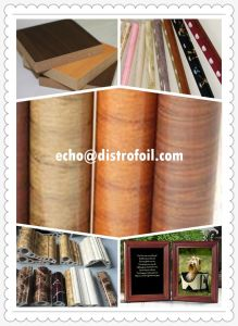 Wood Grain Hot Stamping Foil on MDF Wood Panels pictures & photos