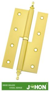 Steel or Iron Door Metal H Hinge (140X55mm furniture hardware) pictures & photos