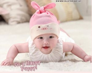 Newborn Baby 100 % Cotton All Seasons Hat pictures & photos