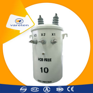 High Voltage Single Phase Pole Mounted Oil Type Transformer pictures & photos