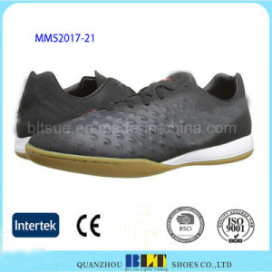 Sports Shoes Smooth Synthetic Leather Lining Snug Fit pictures & photos