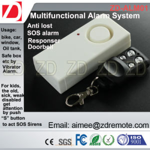 RF Remote Vibration Sensor Alarm System pictures & photos