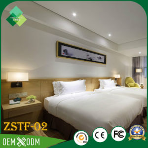 Modern Simple Style Bedroom Set of Hotel Furniture (ZSTF-02) pictures & photos