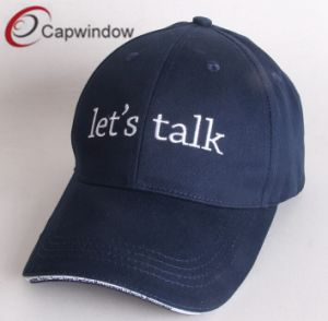 Promotional Baseball Caps with Sandwich and Custom Logos pictures & photos