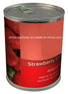 800g Can Soft Depilatory Wax Strawberry Wax pictures & photos
