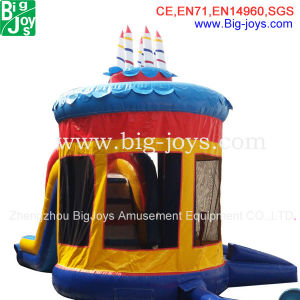 Inflatable Combo, Bouncy Castle Slide, Cake Bouncer (BJ-B11) pictures & photos