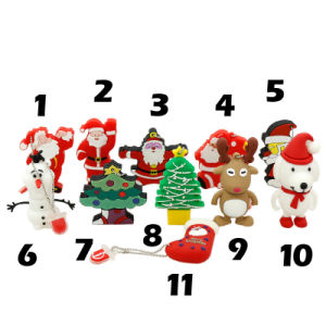 Christmas Gift USB Flash Drive USB Memory Stick Pen Drive pictures & photos