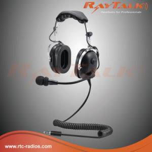 Noise Cancelling Helicopter Aviation Headset pictures & photos
