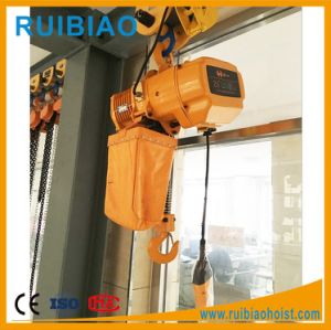3ton Overload Limited Electric Chain Hoist (KSN03-01E) pictures & photos