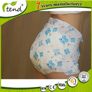 Abdl OEM High Absorbency Cute Design Adult Baby Diapers Factory Producer pictures & photos