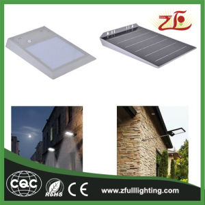 Factory Supply 6W Lithium Battery LED Solar Wall Light pictures & photos