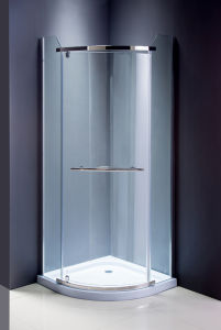 Sanitary Ware Simple Shower Enclosure Glass Shower Screen pictures & photos