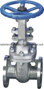 ASME Standard 150lb Stainless Steel Flange Gate Valve pictures & photos
