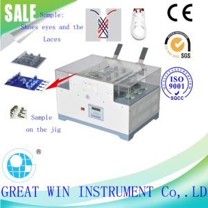 Shoes Lace and Eyelets Abrasion Testing Machine/Equipment (GW-030B) pictures & photos