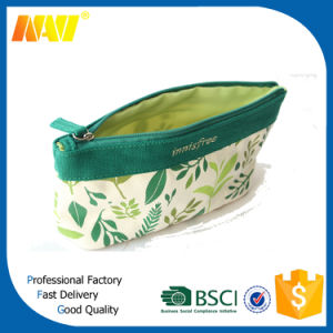 Direct Factory Cheap Cotton Canvas Custom Cosmetic Bag pictures & photos