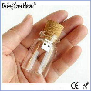 Glass Bottle USB Flash Drive (XH-USB-111) pictures & photos