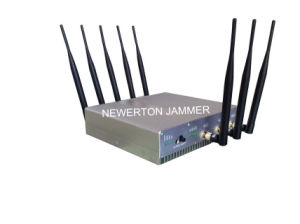 Portable 8 Antennas WiFi 2g 3G 4G Cell Phone Signal Jammer Blocker/Breaker pictures & photos