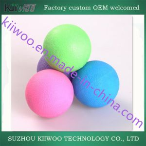 Customized Foaming Rubber Yoga Massage Ball pictures & photos