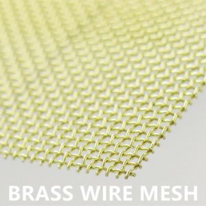 2017 China Manufacturer Brass Wire Mesh Screen 2 Mesh to 100 Mesh pictures & photos