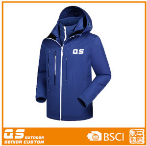 Ykk Zipper Sports Warm Jacket for Women pictures & photos