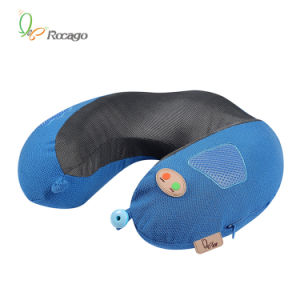 Wholesale U Shape Vibration Massage Pillow with Music pictures & photos