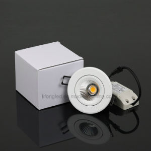 2017 Adjustable 5W Recessed LED COB Downlight pictures & photos