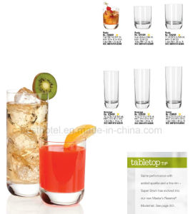 New Design Glass Juice Cup Glass Water Cup Glass Beer Cup pictures & photos