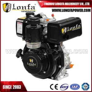 Power Single Cylinder 186fa 10HP Diesel Engine with Electric Starter pictures & photos
