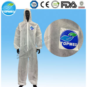 Disposable Jumpsuit, PP Coated PE Waterproof Jumpsuit pictures & photos
