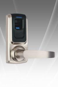RF Card WiFi Bluetooth Remote Fingerprint Door Lock pictures & photos