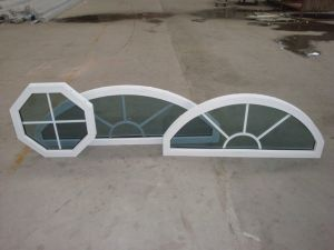 UPVC Double Glass Grill Inside Fixed Window As2047 Standard pictures & photos