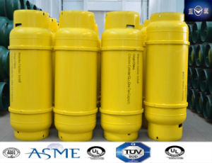 GB5100 400L Refillable Steel Welding Gas Cylinder for R143A