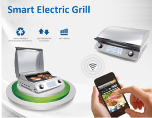 WiFi Control Smart Electric BBQ Grill with Ce ETL Certificates pictures & photos