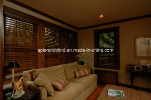 Real Wood Windows Blinds Home Use Blinds-SGD-L-782 pictures & photos