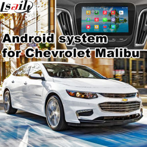 Android 4.4 GPS Navigation Box for Chevrolet Malibu Video Interface Box 2017 GM Mylink Intellink System pictures & photos