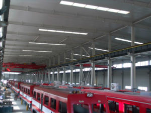 Prefab Large Span Steel Space Truss Factory Shed pictures & photos