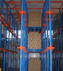 Pallet Style Long Span Through Heavy Duty Shelf Storage Rack pictures & photos