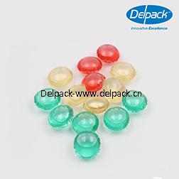 10g Circular Concentrated Liquid Detergent Pod, Pouch, Capsule, Liquid Detergent Pod pictures & photos