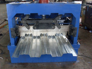 Floor Decking Metal Sheet Panel Roll Forming Machine pictures & photos