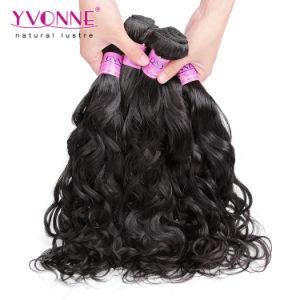 Natural Wave Hair Extension Virgin Brazilian Human Hair pictures & photos