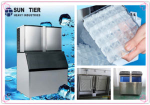 1000kg Cube Ice Machine Frozen Meat Dried Fruit Machines pictures & photos
