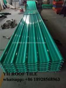 Corrosion Resistance Building Material PVC Resin Roof Tiles pictures & photos