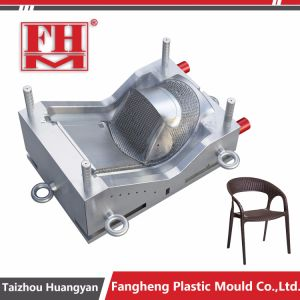 Taizhou OEM Plastic Rattain with Handle Chair Mould pictures & photos