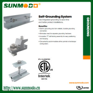 Self Grounding Solar Mounting Kits pictures & photos