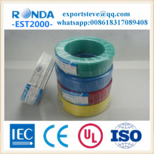 PVC Insulated Copper Core Flexible Electric Wire pictures & photos