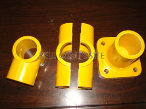 FRP/GRP Handrail Guardrail Fitting Connector, Glassfiber Pipe Fittings, Pipe Connectors. pictures & photos