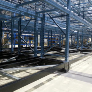 Movable Pallet Rack with Remote Control pictures & photos