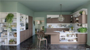 Customized Wooden Pcv Kitchen Cabinet pictures & photos