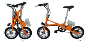 Fashionable 36V 8.8ah Adult Mini Folding E Bike pictures & photos